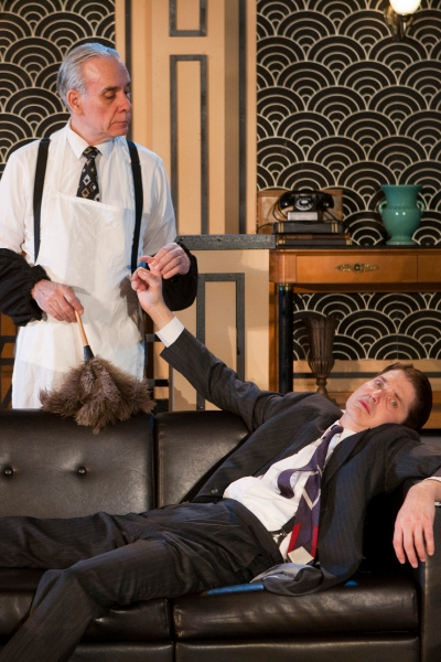 """Jim McCance stars as """"Jeeves"""" and Christian Gray stars as """"Bertie"""""""