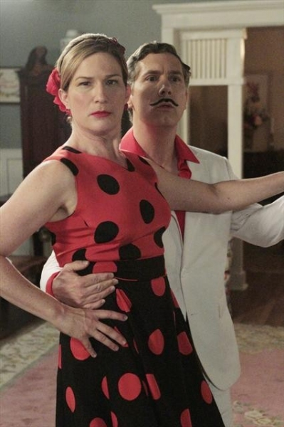 ANA GASTEYER, CHRIS PARNELL