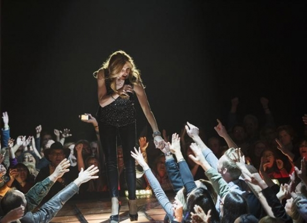 CONNIE BRITTON at NASHVILLE's 'There'll Be No Teardrops Tonight'