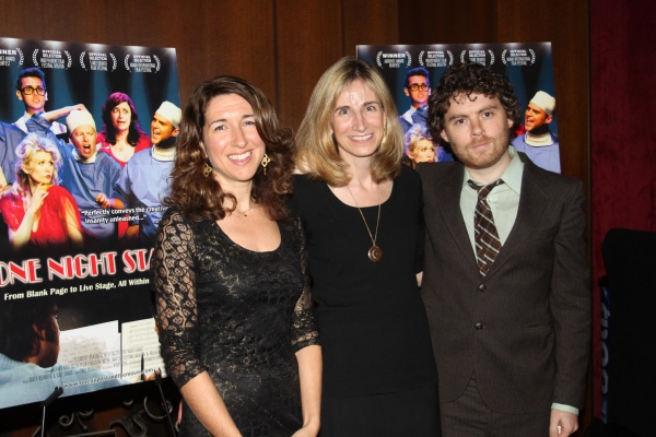 Trish Dalton, Elisabeth Sperling and Gabriel Kahane