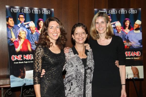 Trish Dalton, Julie Lee Fraga and Elisabeth Sperling