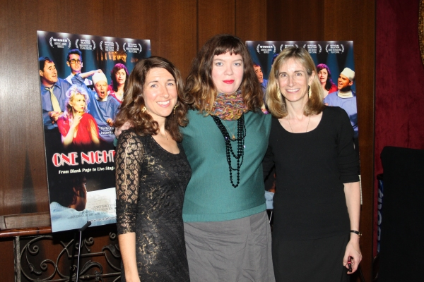 Trish Dalton, Robin Goldwasser and Elisabeth Sperling