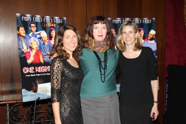 Trish Dalton, Robin Goldwasser and Elisabeth Sperling