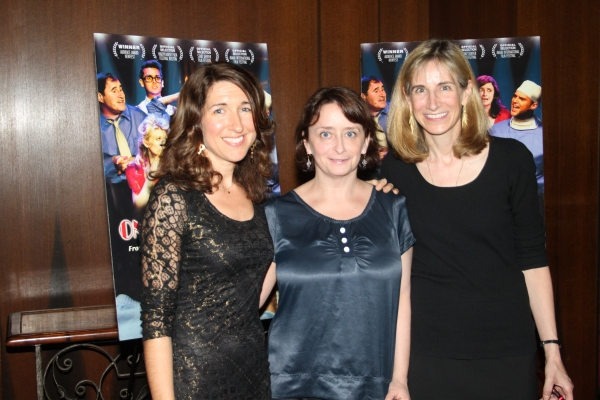 Trish Dalton, Rachel Dratch and Elisabeth Sperling