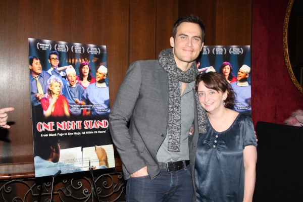 3 at Cheyenne Jackson, Rachel Dratch and More at ONE NIGHT STAND Premiere!