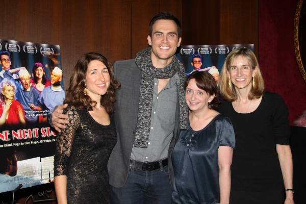 Trish Dalton, Cheyenne Jackson, Rachel Dratch and Elisabeth Sperling