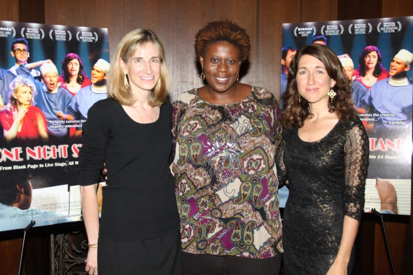 Elisabeth Sperling, Capathia Jenkins and Trish Dalton