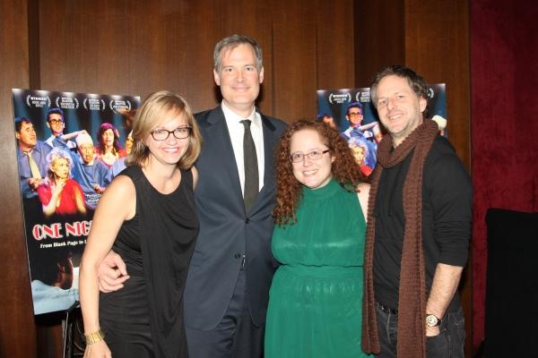 Tina Fallon, Lindsay Bowen, Sarah Bisman and Philip Naude