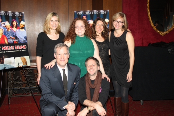 Elisabeth Sperling, Sarah Bisman, Trish Dalton, Tina Fallon, Lindsay Brown and Philip Naude