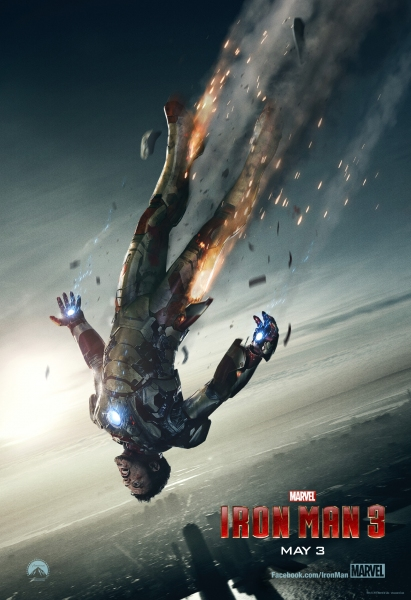 Photo Flash: New Poster for IRON MAN 3 Released