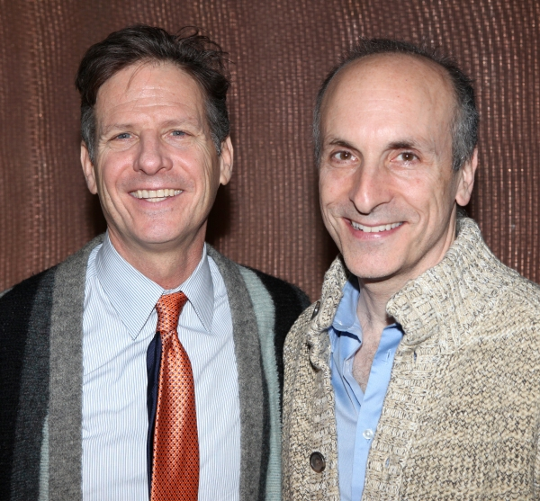 Martin Moran & director Seth Barrish