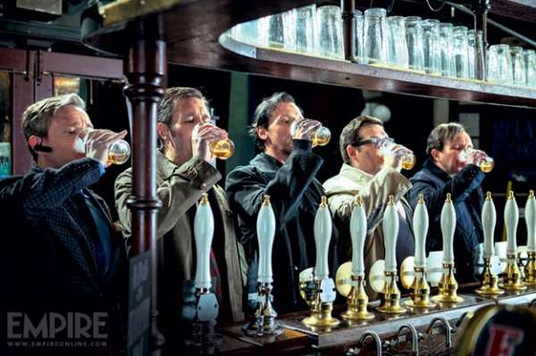 Photo Flash: New Images from Edgar Wright's THE WORLD'S END
