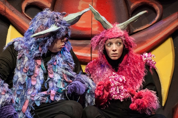 Phillip Reid as Monmon and Tia Shearer as Nakamon