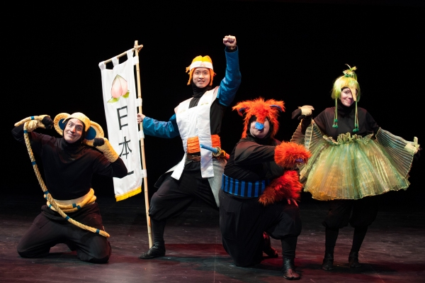 Photo Flash: First Look at ANIME MOMOTARO at Imagination Stage