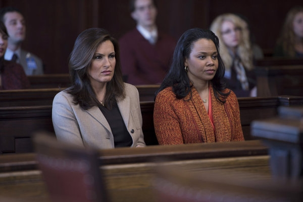 Mariska Hargitay, Daria Hardeman at First Look at Mike Tyson on LAW & ORDER: SVU