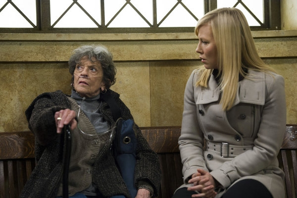 Susanne Shepherd, Kelli Giddish at First Look at Mike Tyson on LAW & ORDER: SVU