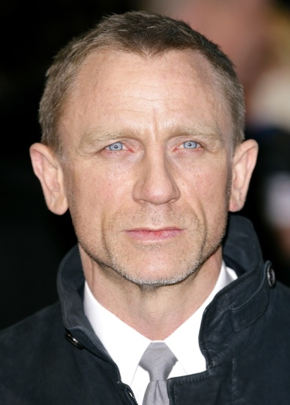 Daniel Craig at Daniel Craig May be Written Out of GIRL WITH THE DRAGON TATTOO Sequels