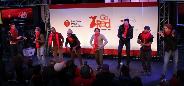 Photo Coverage: Judy Kaye, Valisia LeKae and More Celebrate National Wear Red Day at Macy's!