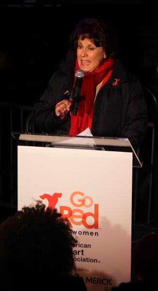 Judy Kaye  at Judy Kaye, Valisia LeKae and More Celebrate National Wear Red Day at Macy's!
