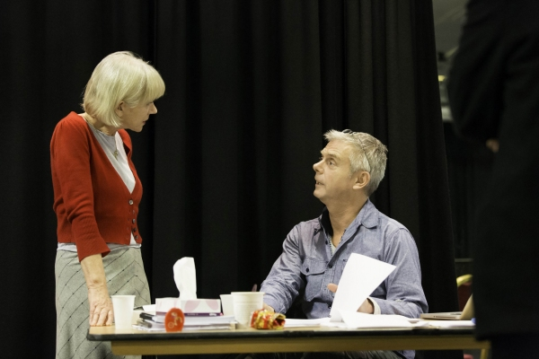 Helen Mirren and Stephen Daldry at First Look at Helen Mirren, Michael Elwyn and More in Rehearsals for West End's THE AUDIENCE