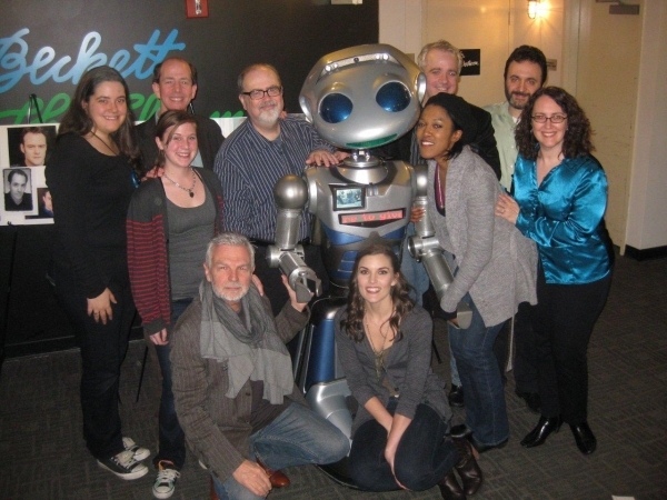 Photo Flash: Robot Millennia Poses with Company of Resonance Ensemble's THE TRUTH QUOTIENT