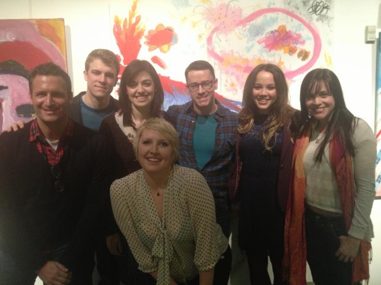High Res John Hill, Jason Hite, Barrett Wilbert Weed, Natalie Joy Johnson, Adam Fleming, Elizabeth Judd and Jenna Leigh Green