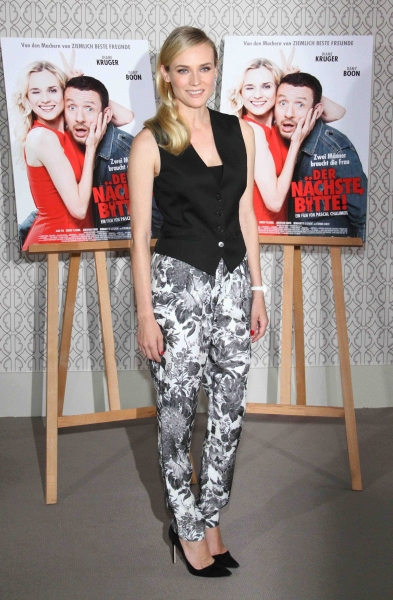 Diane Kruger at 'Der Nachste bitte' film photocall in Berlin (Photo by Willi Schneider/Rex / Rex USA)