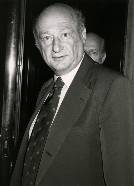 Ed Koch in New York City. June 1982