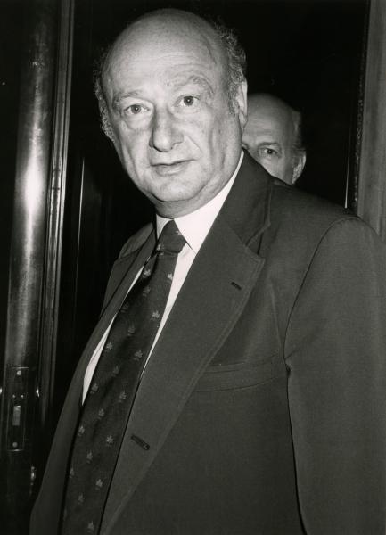 Ed Koch in New York City. June 1982