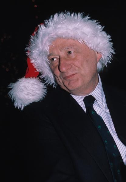 Ed Koch in New York City. 1982