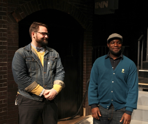 Eric Hoff (Director), Ike Holter (Playwright)
