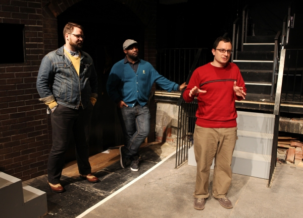 Eric Hoff (Director), Ike Holter (Playwright) & Dan Lipton (Music)  Photo