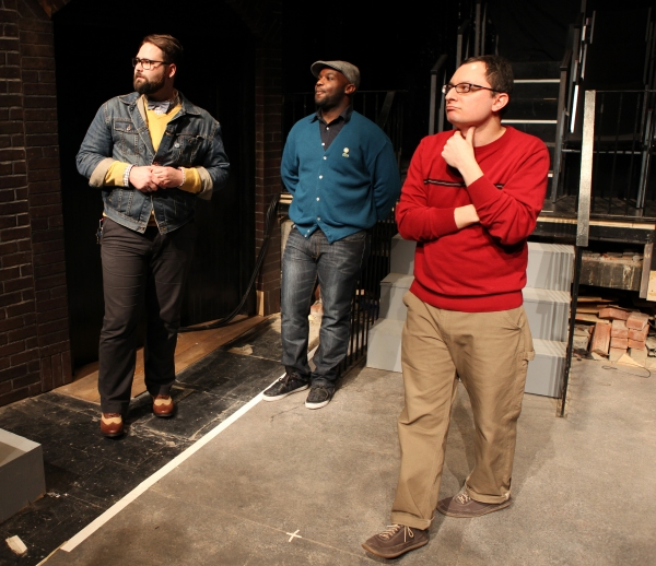 Eric Hoff (Director), Ike Holter (Playwright) & Dan Lipton (Music)