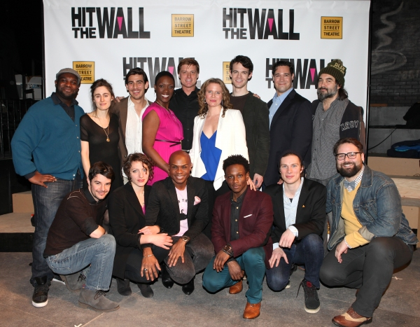 first row: Jonathan Mastro, Rania Salem Manganaro, Nathan Lee Graham, Gregory Haney, Nick Bailey & Eric Hoff second row: Ike Holter, Indigo Street, Arturo Soria, Carolyn Michelle Smith, Sean Allan Krill, Jessica Dickey, Ben Diskant, Matthew Greer & Ray Ri
