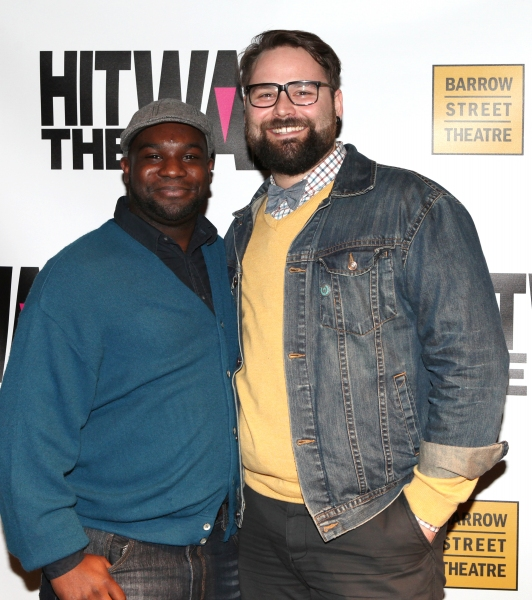 Ike Holter (Playwright) & Eric Hoff (Director)  Photo