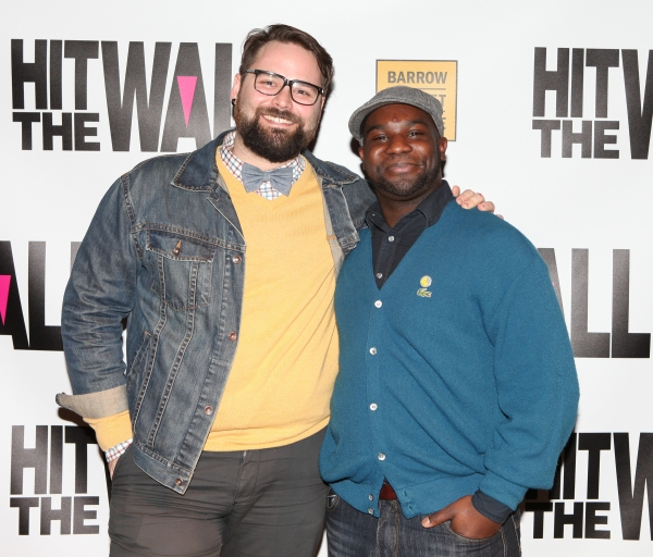Photo Coverage: HIT THE WALL Company Meets the Press!