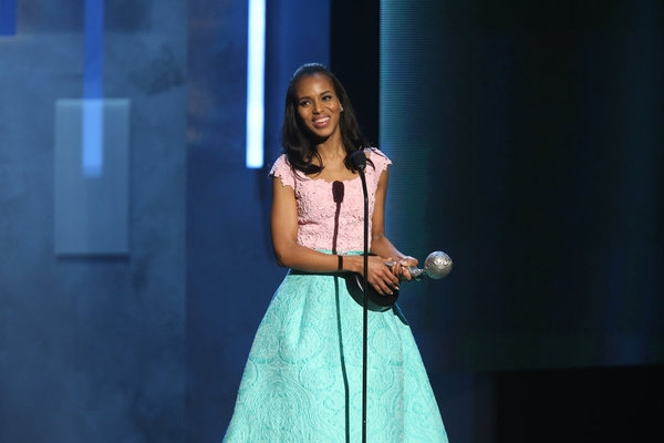 Kerry Washington at Last Night's 44th Annual NAACP Image Awards