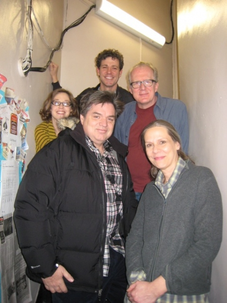 Photo Flash: Oliver Platt Visits WHO'S AFRAID OF VIRGINIA WOOLF?