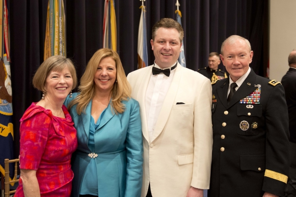 Photo Flash: Anthony Kearns at Pre-Inaugural Reception for Congressional Medal of Honor Society