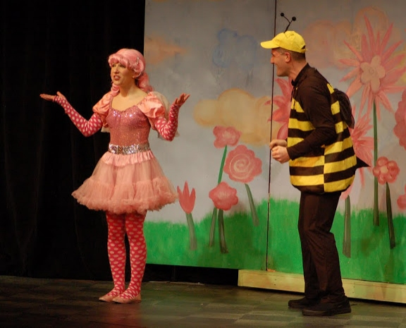 Audra Rizzo (Pinkalicious); Matt Stashin (Mr. Pinkerton and a Bee)