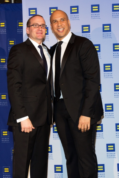 Chad Griffin, Cory Booker  Photo