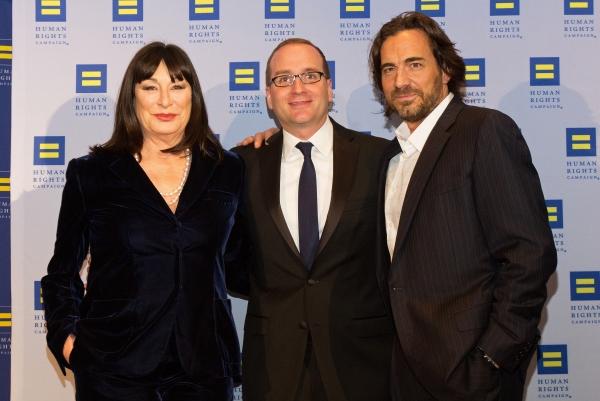Anjelica Huston, Chad Griffin, Thorsten Kaye
