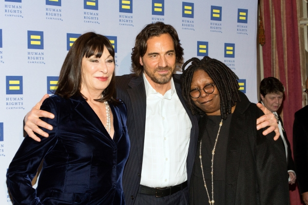 Anjelica Huston, Thorsten Kaye, Whoopi Goldberg
