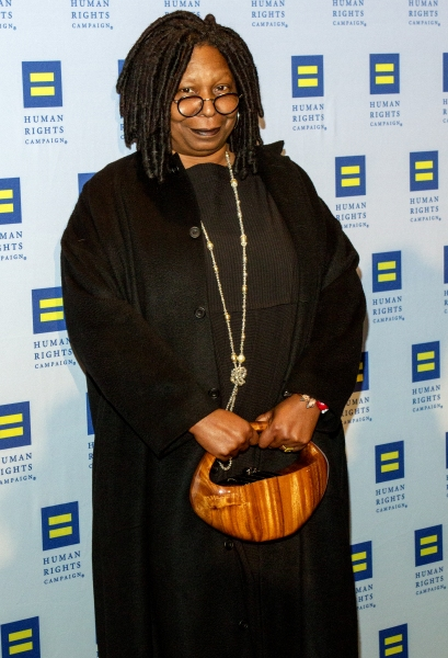 Photo Coverage: Whoopi Goldberg, Cheyenne Jackson, and More at HRC Gala