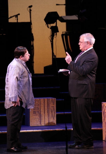 Photo Coverage: Former Congressman Barney Frank Makes Stage Debut in FIORELLO!