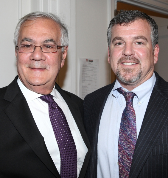Barney Frank & husband Jim Ready