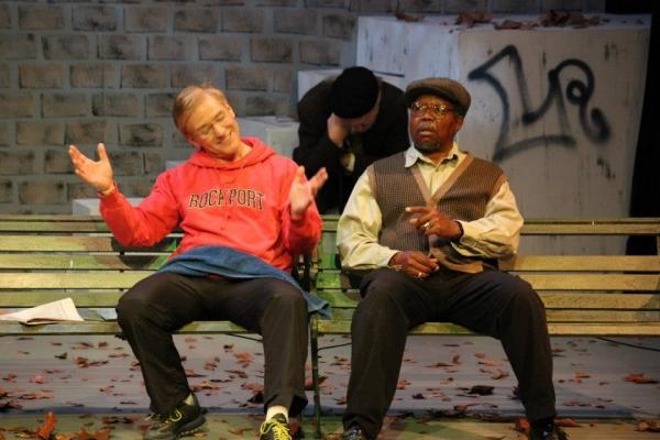 Danforth (Wayne White), Nat (John Stevens), and Midge (Sedric Willis). Photo