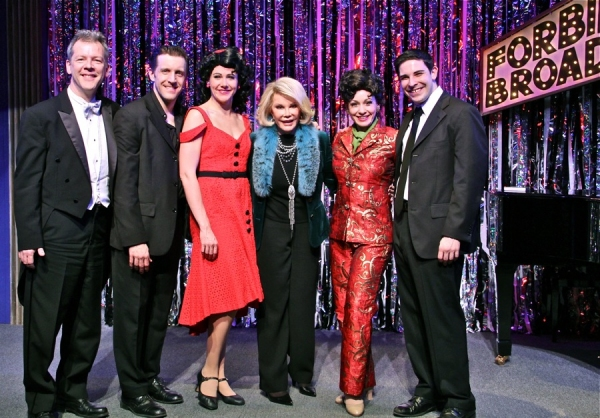 Photo Flash: Joan Rivers Visits FORBIDDEN BROADWAY!