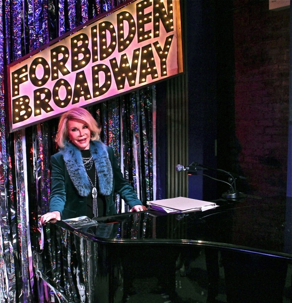 Joan Rivers at Joan Rivers Visits FORBIDDEN BROADWAY!