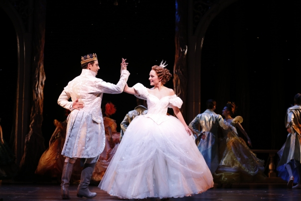 Photo Flash: Laura Osnes and Santino Fontana at the Ball in CINDERELLA!